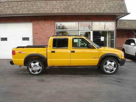 2003 Chevrolet S-10 for sale at AUTOWORKS OF OMAHA INC in Omaha NE
