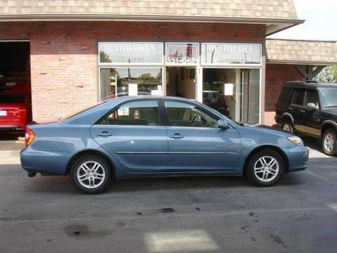 2003 Toyota Camry for sale at AUTOWORKS OF OMAHA INC in Omaha NE