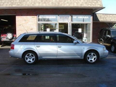 2000 Audi A6 for sale at AUTOWORKS OF OMAHA INC in Omaha NE
