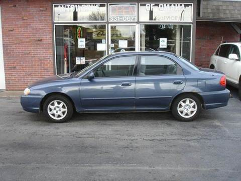 2002 Kia Spectra for sale at AUTOWORKS OF OMAHA INC in Omaha NE