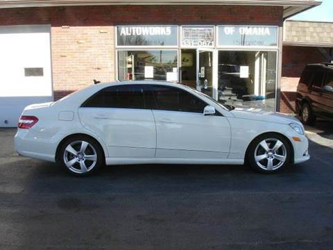 2011 Mercedes-Benz E-Class for sale at AUTOWORKS OF OMAHA INC in Omaha NE