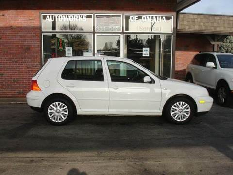 2003 Volkswagen Golf for sale at AUTOWORKS OF OMAHA INC in Omaha NE