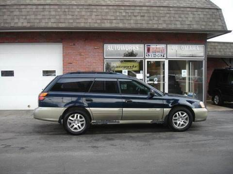 2000 Subaru Outback for sale at AUTOWORKS OF OMAHA INC in Omaha NE