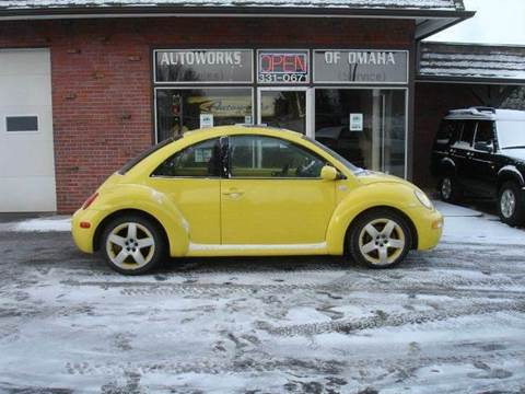2002 Volkswagen New Beetle for sale at AUTOWORKS OF OMAHA INC in Omaha NE
