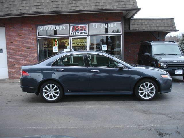 2006 Acura TSX for sale at AUTOWORKS OF OMAHA INC in Omaha NE