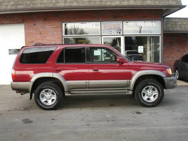 583385ce050b 1999 Toyota 4Runner Limited 4dr 4WD SUV In Omaha NE - AUTOWORKS OF ...