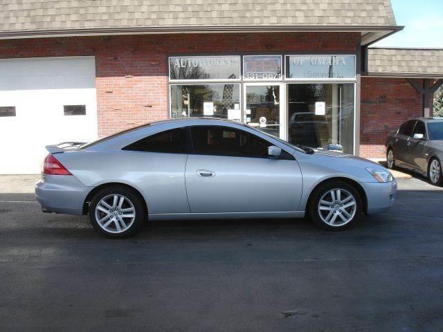 2003 Honda Accord EX V 6 2dr Coupe   Omaha NE
