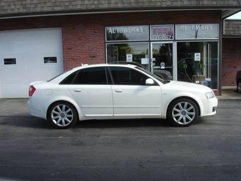 2005 Audi A4 for sale at AUTOWORKS OF OMAHA INC in Omaha NE