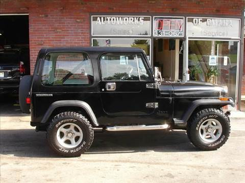 1988 Jeep Wrangler for sale at AUTOWORKS OF OMAHA INC in Omaha NE