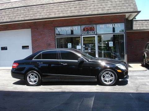 2010 Mercedes-Benz E-Class for sale at AUTOWORKS OF OMAHA INC in Omaha NE