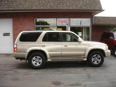 2002 Toyota 4Runner for sale at AUTOWORKS OF OMAHA INC in Omaha NE