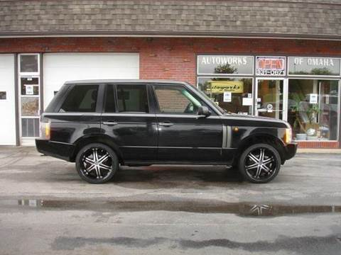 2003 Land Rover Range Rover for sale at AUTOWORKS OF OMAHA INC in Omaha NE