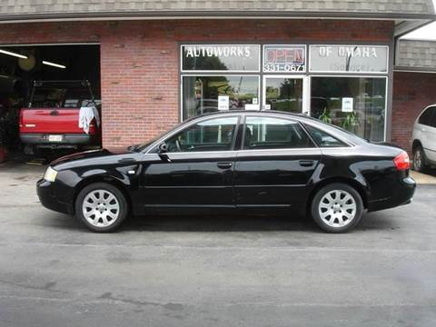 2002 Audi A6 for sale at AUTOWORKS OF OMAHA INC in Omaha NE