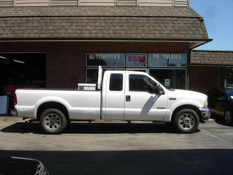 2003 Ford F-250 Super Duty for sale at AUTOWORKS OF OMAHA INC in Omaha NE