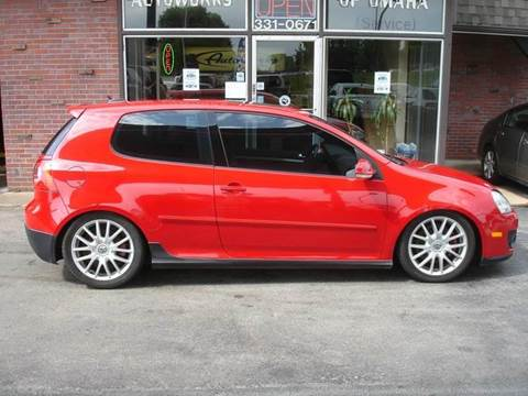 2006 Volkswagen GTI for sale at AUTOWORKS OF OMAHA INC in Omaha NE