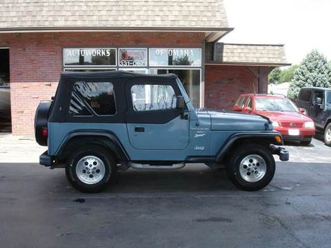 1998 Jeep Wrangler for sale at AUTOWORKS OF OMAHA INC in Omaha NE
