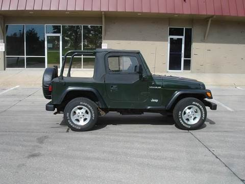 1997 Jeep Wrangler for sale at AUTOWORKS OF OMAHA INC in Omaha NE