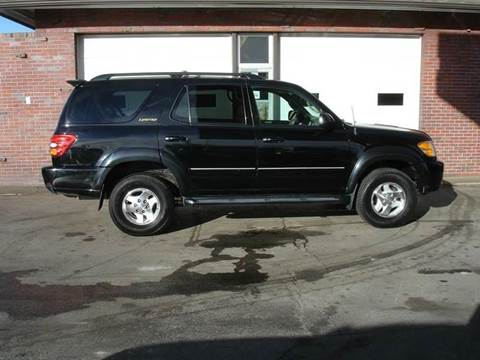 2001 Toyota Sequoia for sale at AUTOWORKS OF OMAHA INC in Omaha NE