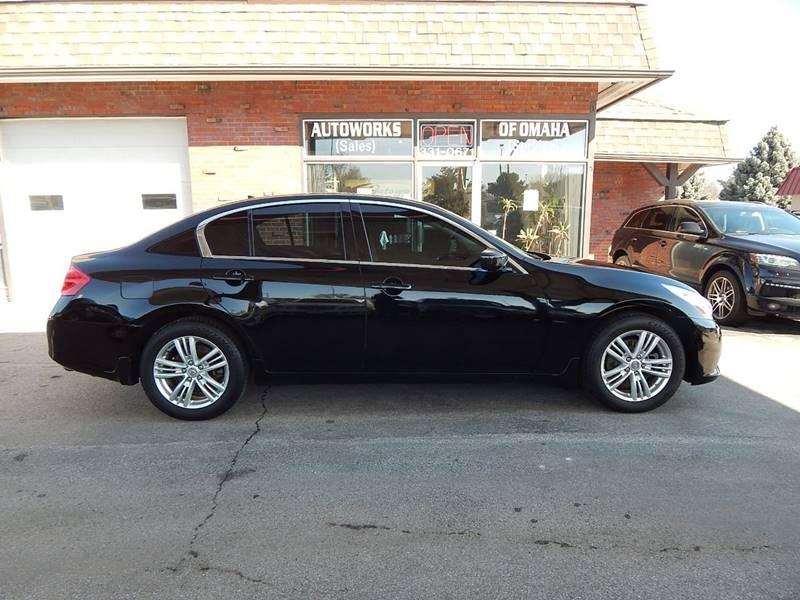2011 Infiniti G37 Sedan AWD x 4dr Sedan In Omaha NE
