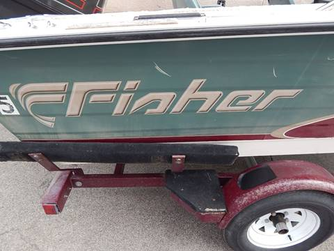 1997 Fisher Hawk FS 160