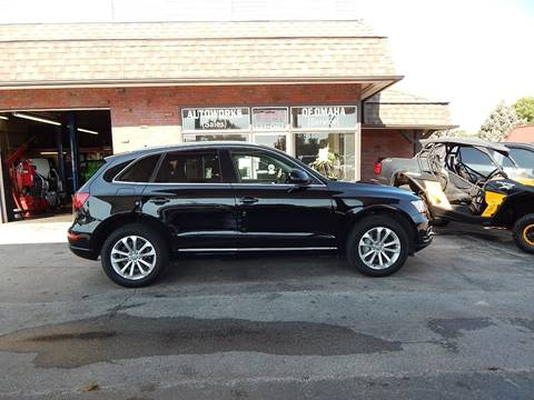 2014 Audi Q5 for sale at AUTOWORKS OF OMAHA INC in Omaha NE