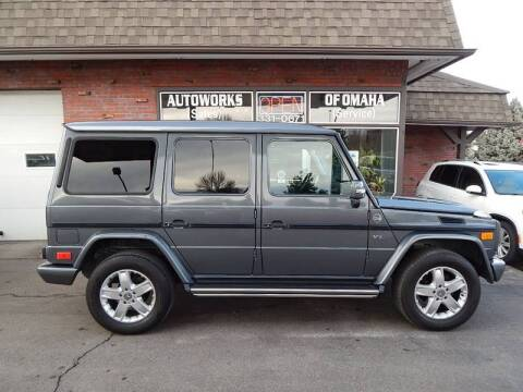 2005 Mercedes-Benz G-Class for sale at AUTOWORKS OF OMAHA INC in Omaha NE