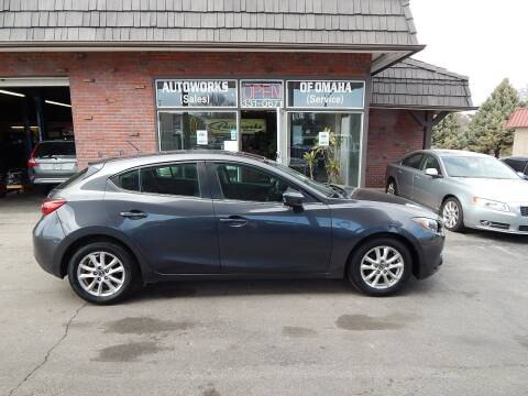 2016 Mazda MAZDA3 for sale at AUTOWORKS OF OMAHA INC in Omaha NE