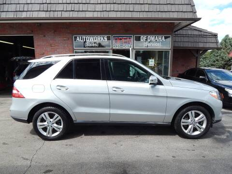 2013 Mercedes-Benz M-Class for sale at AUTOWORKS OF OMAHA INC in Omaha NE