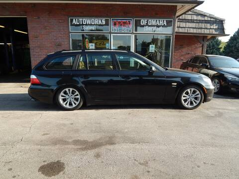 2009 BMW 5 Series for sale at AUTOWORKS OF OMAHA INC in Omaha NE