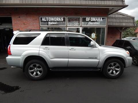 2007 Toyota 4Runner for sale at AUTOWORKS OF OMAHA INC in Omaha NE