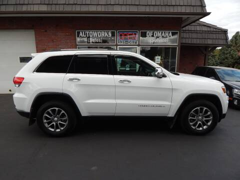 2014 Jeep Grand Cherokee for sale at AUTOWORKS OF OMAHA INC in Omaha NE