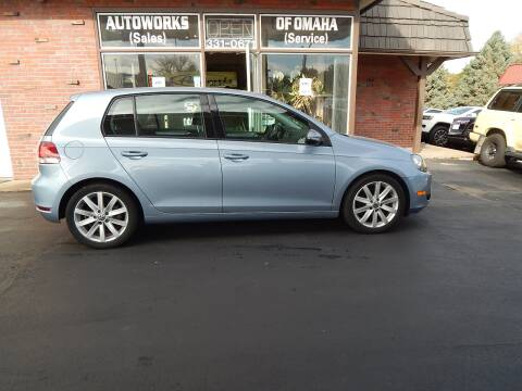 2011 Volkswagen Golf for sale at AUTOWORKS OF OMAHA INC in Omaha NE