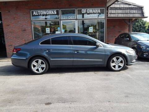2013 Volkswagen CC for sale at AUTOWORKS OF OMAHA INC in Omaha NE
