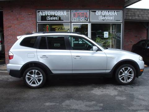 2007 BMW X3 for sale at AUTOWORKS OF OMAHA INC in Omaha NE