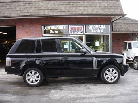 2006 Land Rover Range Rover for sale at AUTOWORKS OF OMAHA INC in Omaha NE