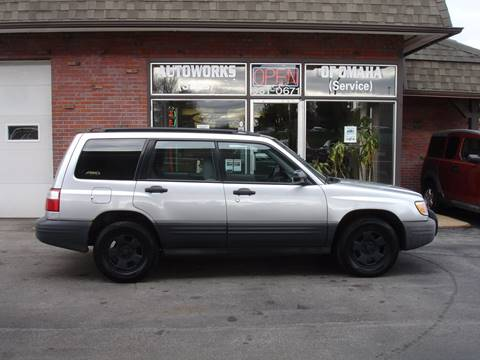 2002 Subaru Forester for sale at AUTOWORKS OF OMAHA INC in Omaha NE