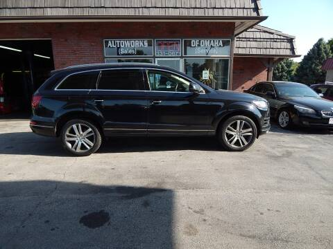 2015 Audi Q7 for sale at AUTOWORKS OF OMAHA INC in Omaha NE