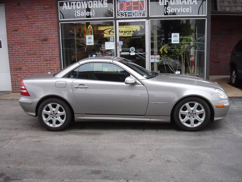 2003 Mercedes Benz Slk Slk 230 Kompressor 2dr Roadster In Omaha Ne