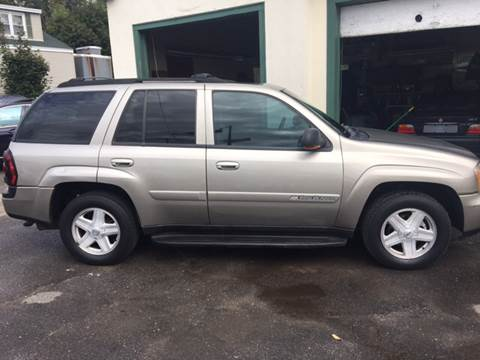 2003 Chevrolet TrailBlazer for sale in Southwick, MA