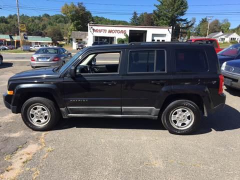 2011 Jeep Patriot for sale in Southwick, MA