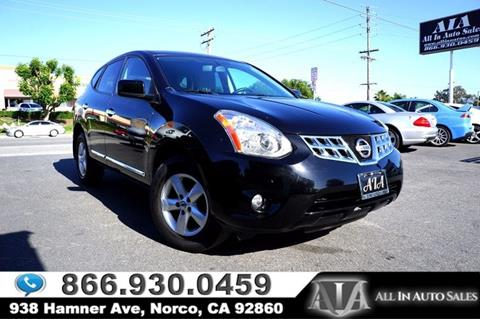2013 Nissan Rogue for sale in Norco, CA