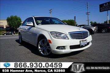 2009 Mercedes-Benz C-Class for sale in Norco, CA