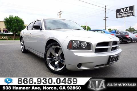 2008 Dodge Charger for sale in Norco, CA