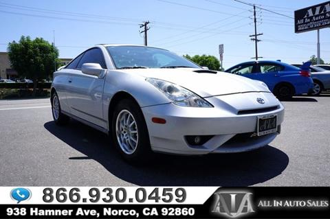 2003 Toyota Celica for sale in Norco, CA