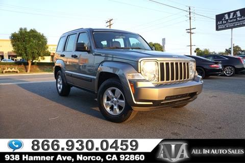 2012 Jeep Liberty for sale in Norco, CA