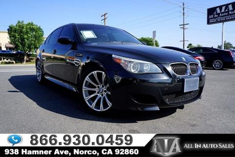 2006 BMW M5 for sale in Norco, CA