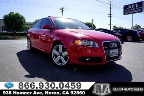 2006 Audi A4 for sale in Norco, CA