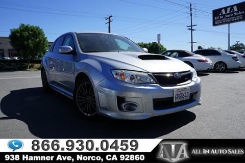 2012 Subaru Impreza for sale in Norco, CA