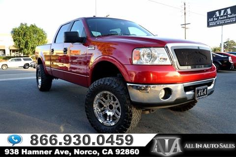 2007 Ford F-150 for sale in Norco, CA