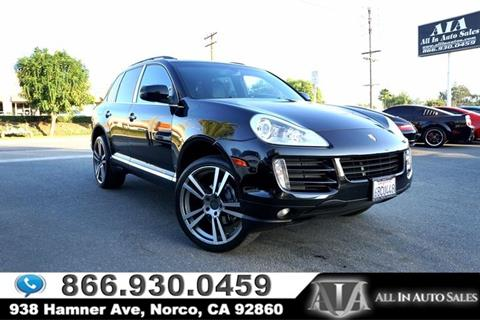 2008 Porsche Cayenne for sale in Norco, CA